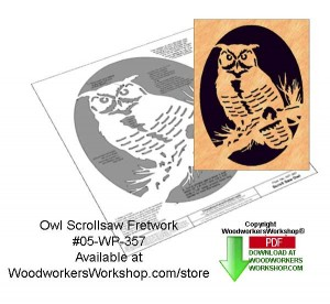 woodworking scrollsaw patterns,downloadable pdf