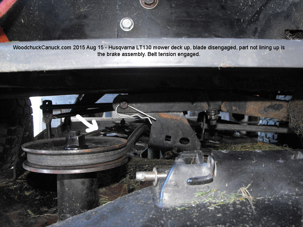 Husqvarna Lt130 Ride On Mower Maintenance