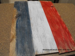 wooden maps,red white and blue,pallets