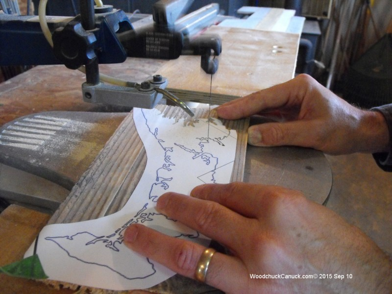 Prince Edward Island,wood crafts,scrollsawing,pallets
