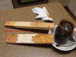 wood stain,vinegar,steel wool,make your own,diy