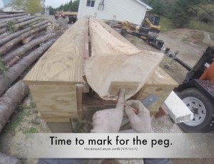 woodworking,outdoors,carpentry,heat pump shelters,logs,logging,forestry