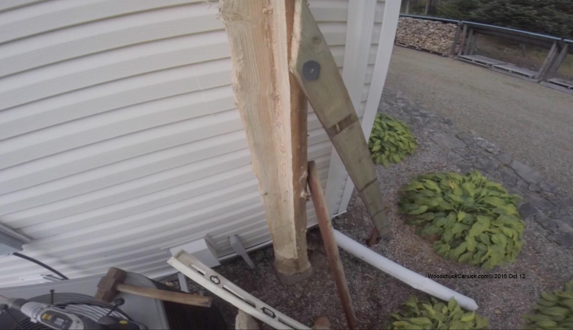 Heat Pump Shelters : Building a heat pump shelter