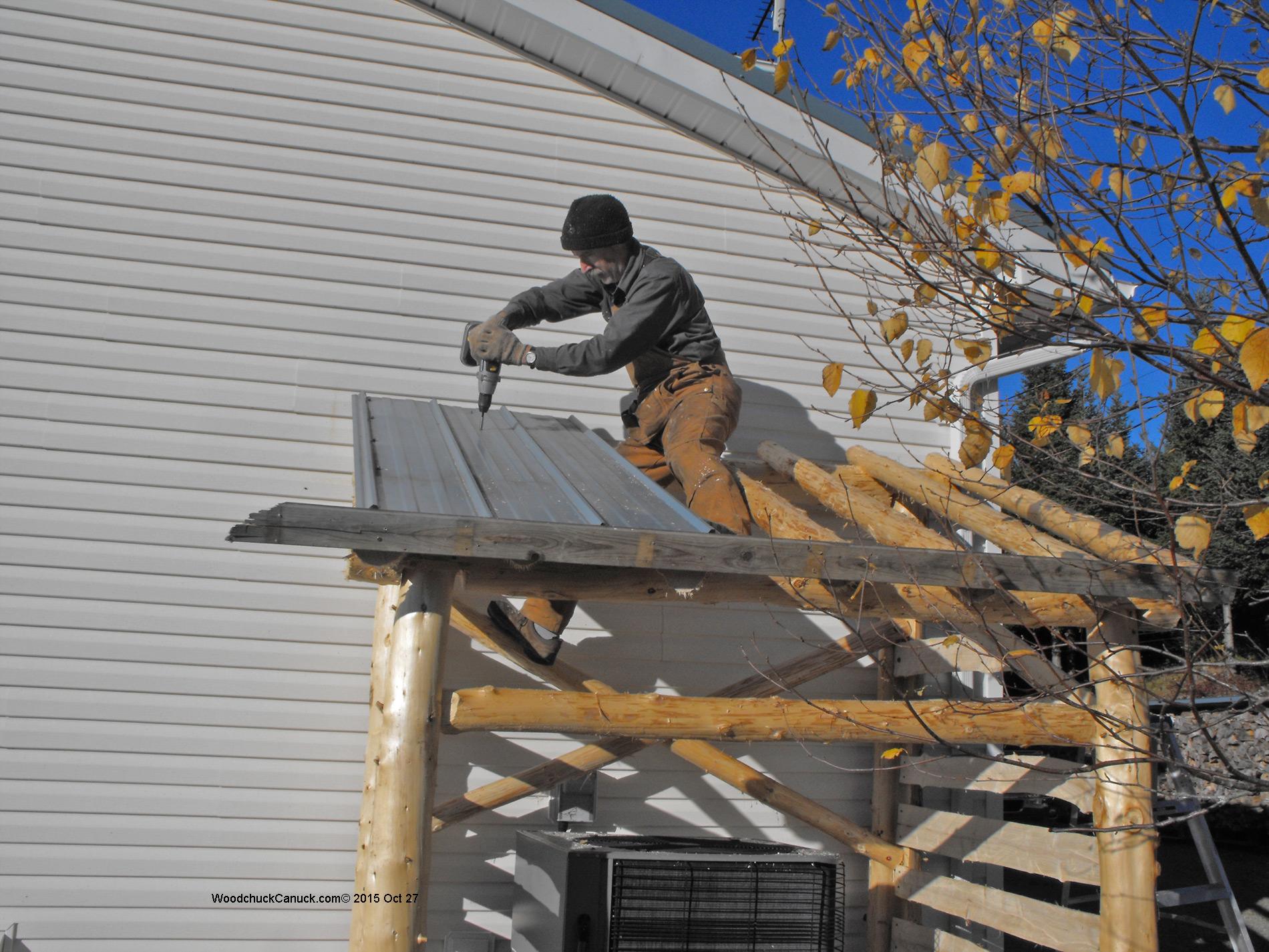 Building A Heat Pump Shelter Woodchuckcanuck Com
