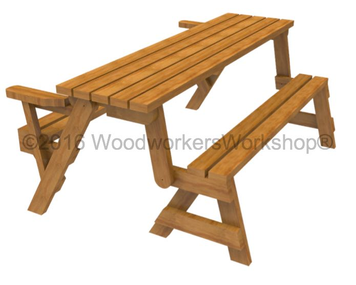 folding benches,outdoor wooden furniture,Folding Bench Picnic Tables