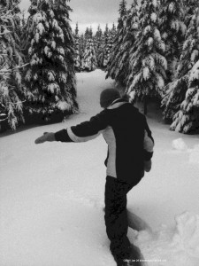 snowstorm,Nova Scotia, Loch Katrine