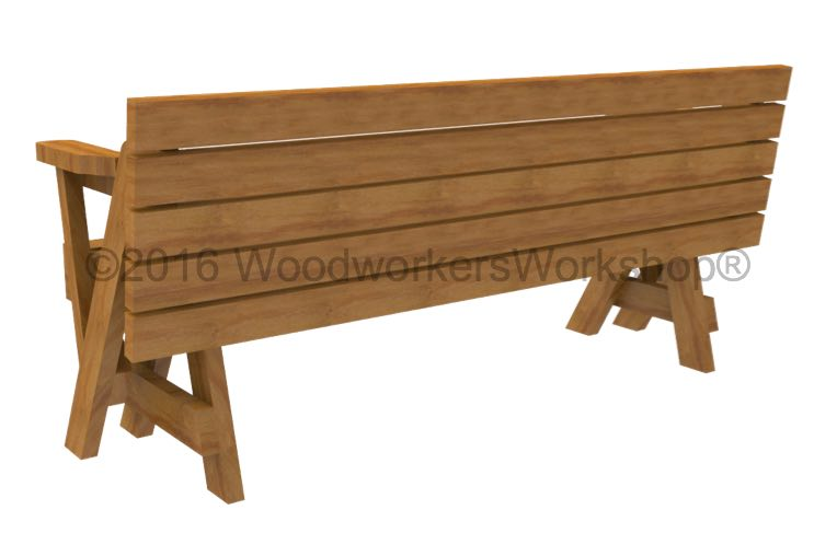 folding bench converts to picnic table,Folding Bench Picnic Table