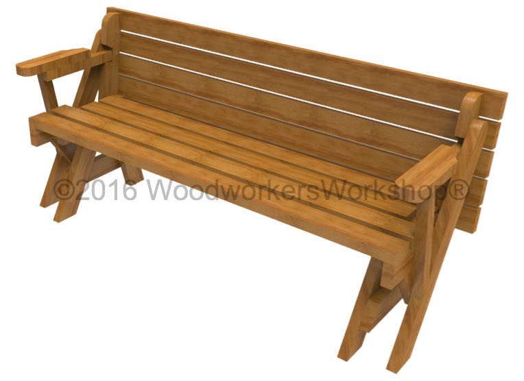 wooden benches,convertible picnic tables
