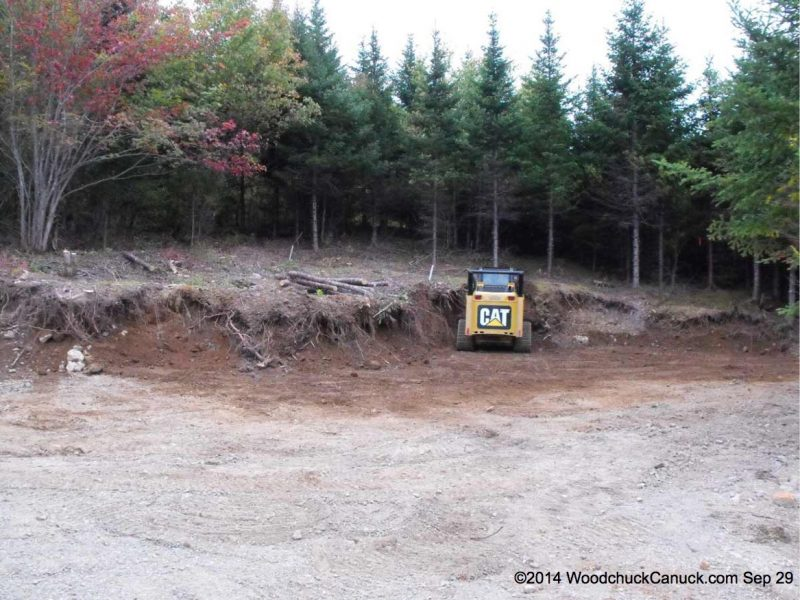landscaping, land clearing