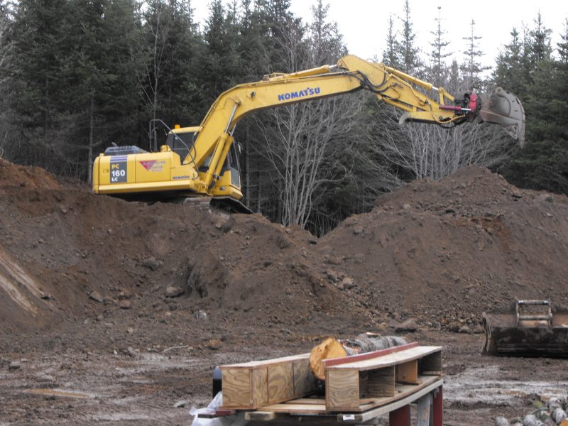 excavating,landscaping,land clearing