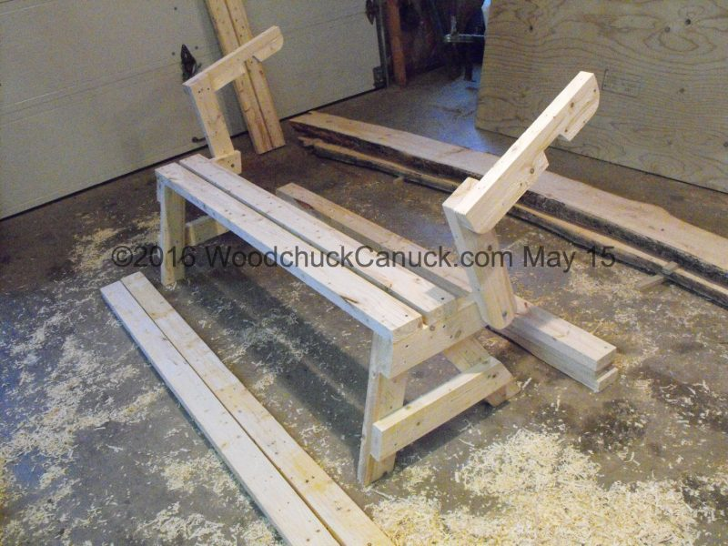 woodworking,picnic table parts