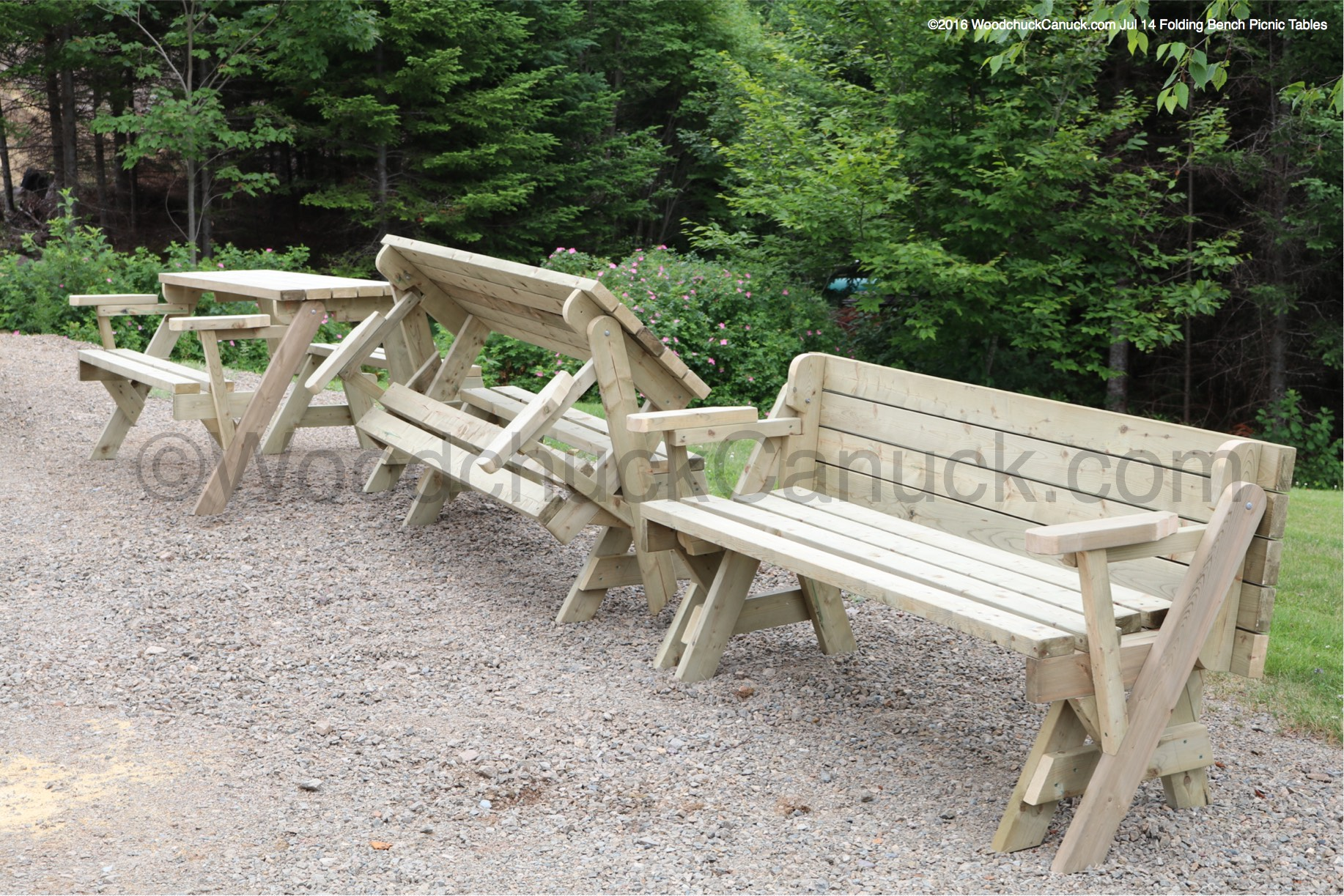 folding bench picnic table. Black Bedroom Furniture Sets. Home Design Ideas