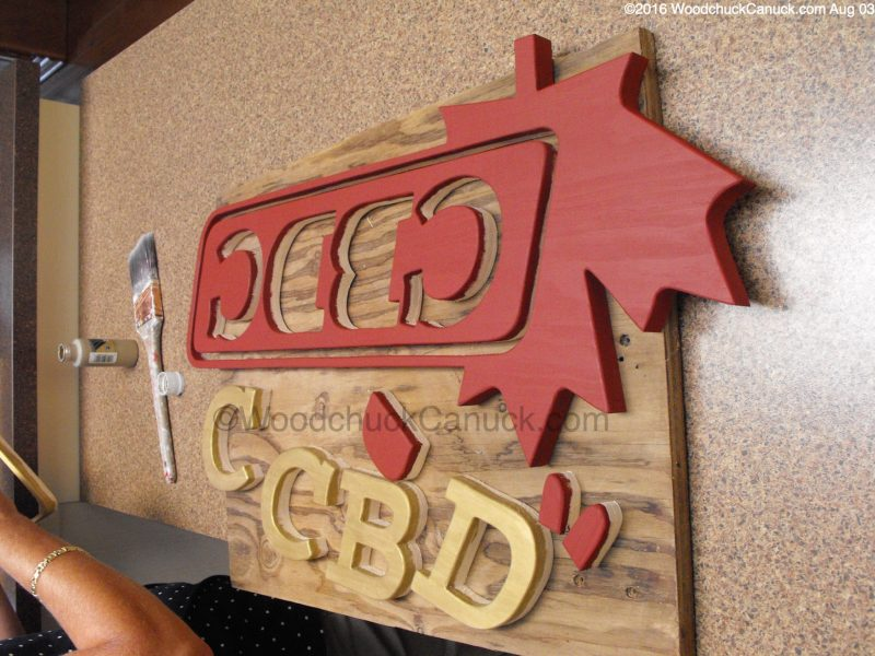 wooden logos,custom work,woodworking,CBDC Atlantic