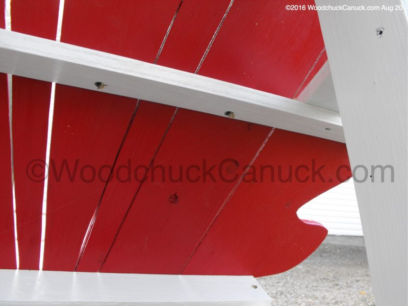 Maritime Maple Leaf chairs,Adirondack style,outdoor furniture,building,woodworking