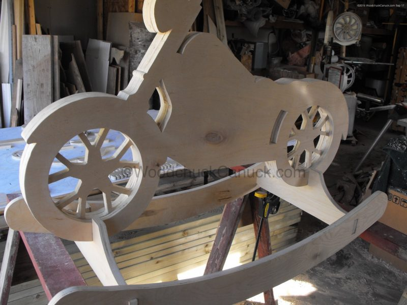 Motorcycle Rocker Prototype Woodworking Plans