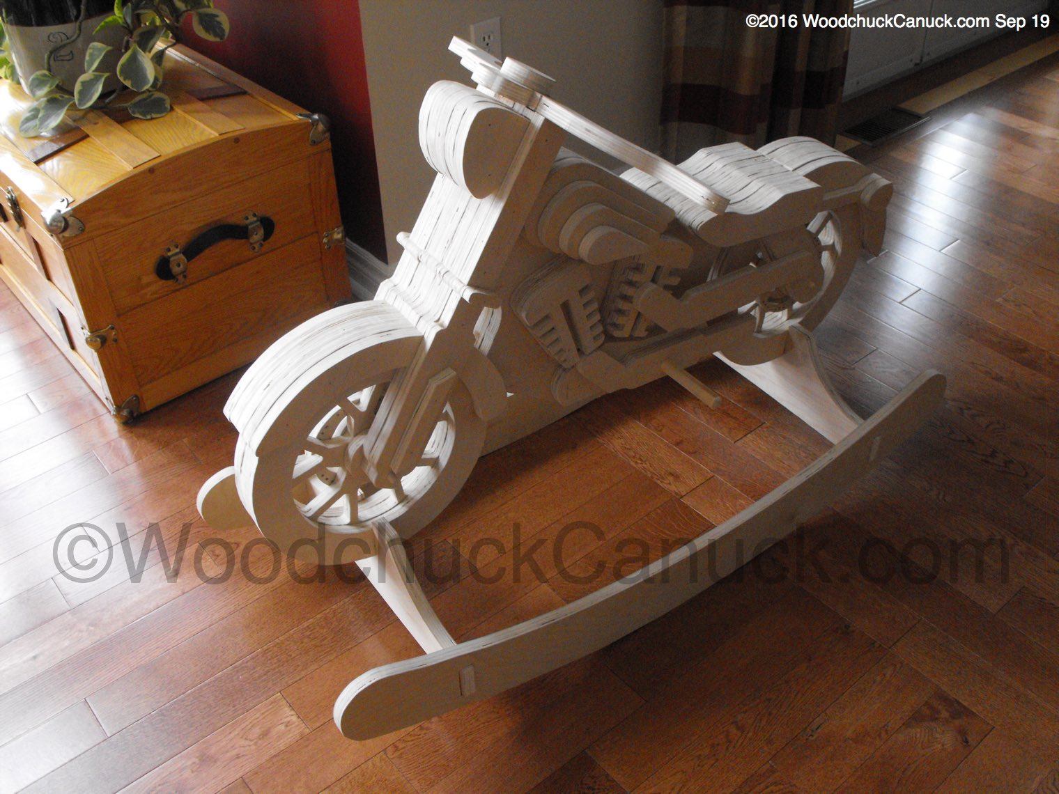 Motorcycle rocker prototype woodworking plans for Woodworking plan for motorcycle rocker toy