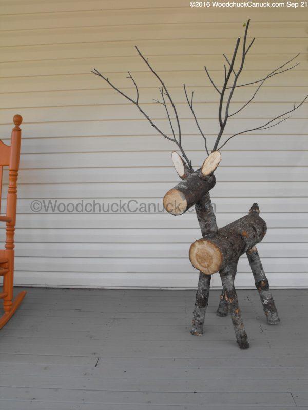 firewood,reindeer,logs