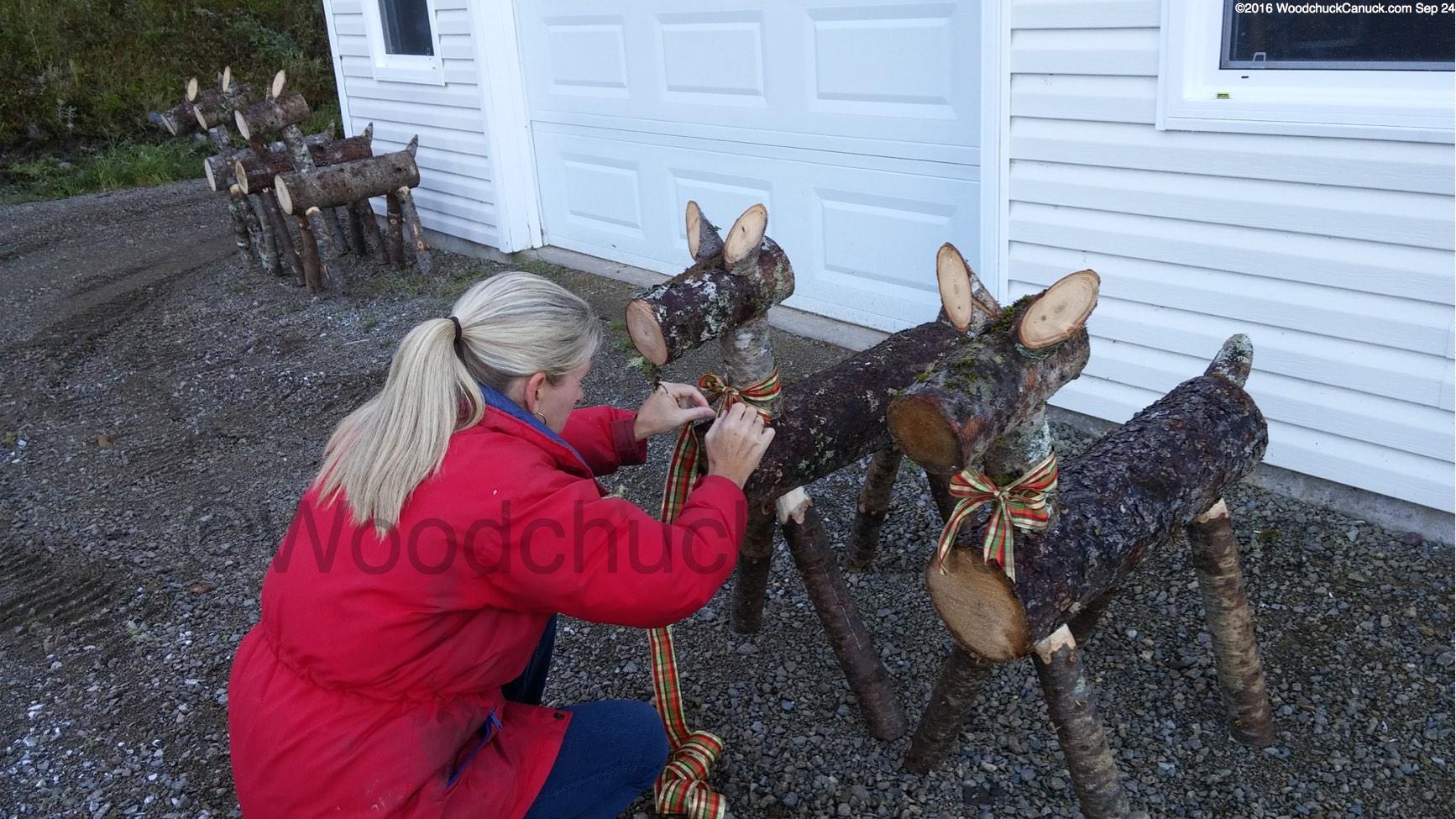 log reindeer � woodchuckcanuckcom
