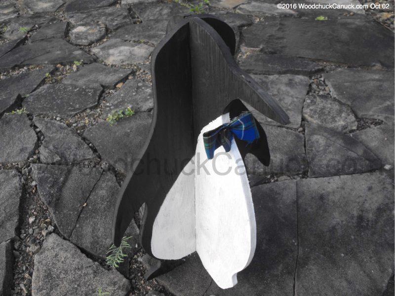 penguins,3D plywood projects,Nova Scotia tartans