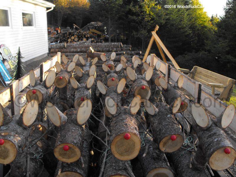 log reindeer, wood crafts,made in Nova Scotia