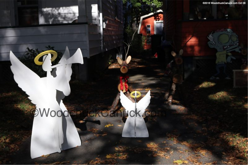 3D angels,wood crafts,Halifax,Nova Scotia