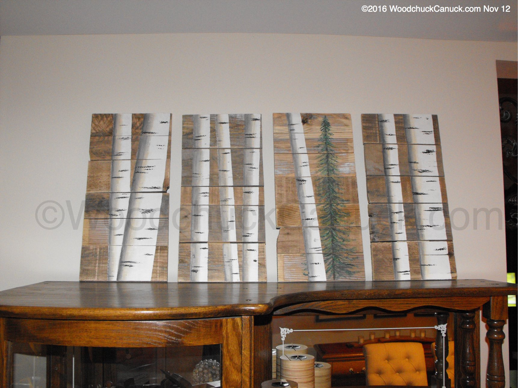 Pallet board painting – WoodchuckCanuck.com