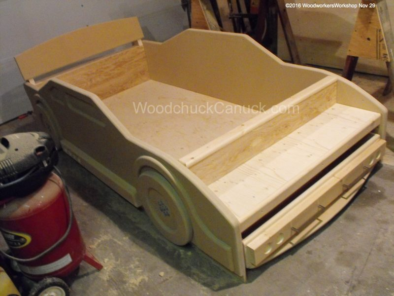 race car bed,woodworking projects