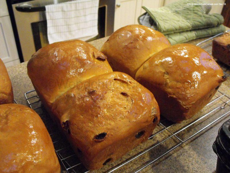 home baking,raisin bread