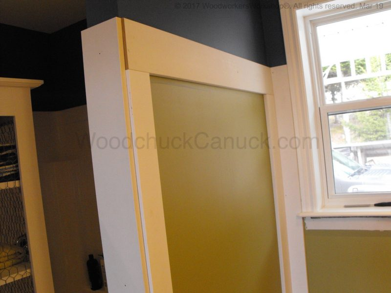 custom carpentry, bathroom trim work, Antigonish, Nova Scotia