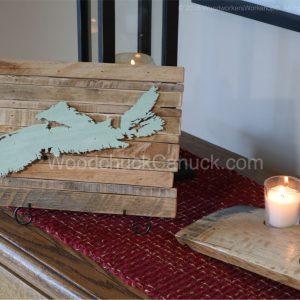 wooden maps of Nova Scotia,Mariitmes,Atlantic provinces,handscrafts,made in Nova Scotia