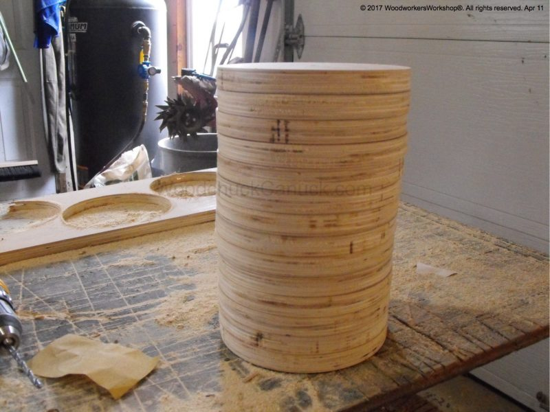 router cut plywood circles