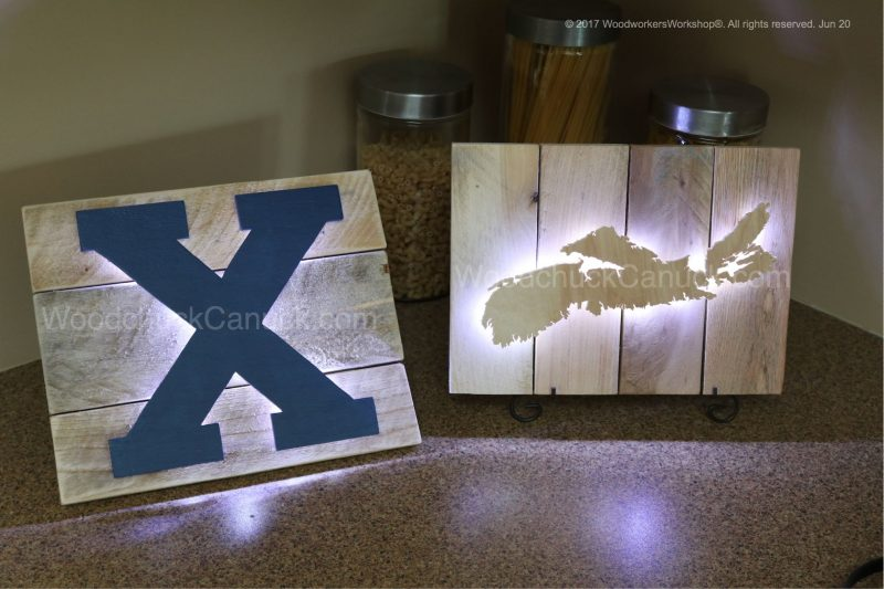 LED lights, mini lights, wooden projects, backlit craft projects,Made in Nova Scotia,Made in the Maritimes,Made in Canada
