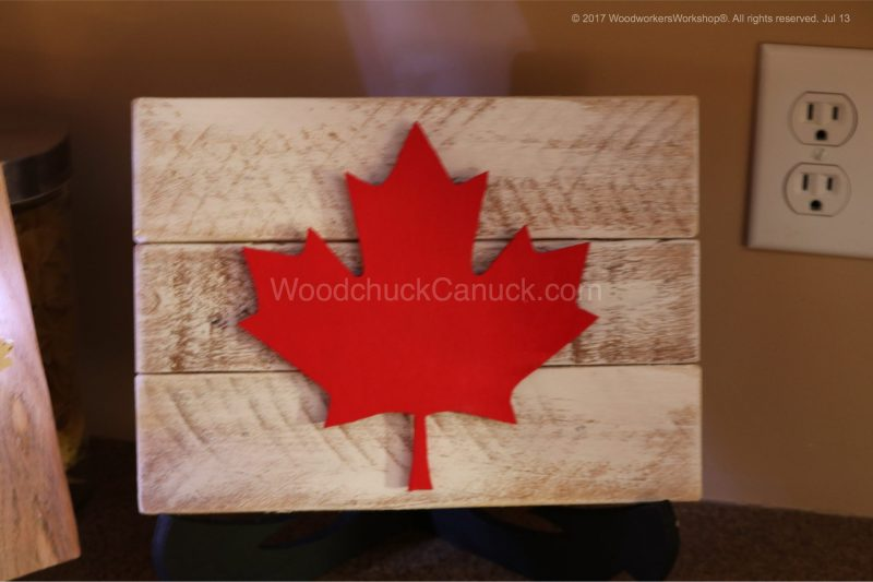 oh Canada,maple leaf, pallet projects, hand crafted, made in Nova Scotia