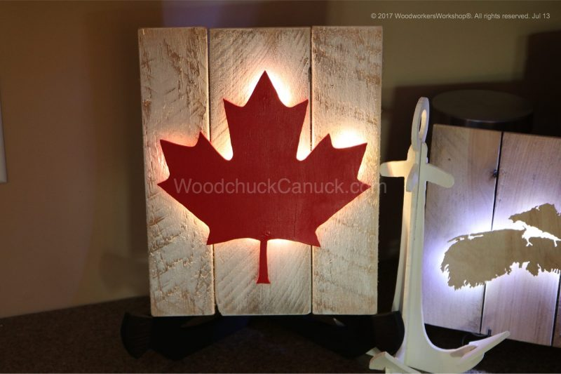 our Canada,Canadian flags,crafts,lights,lighting,handcrafted,made in Nova Scotia