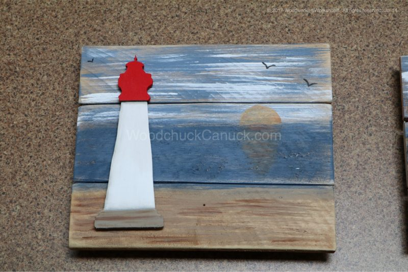 lighthouses,handcrafted,nautical,made in nova scotia,pallets