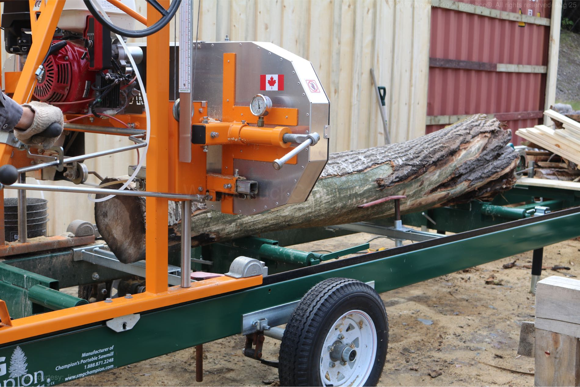 milling logs