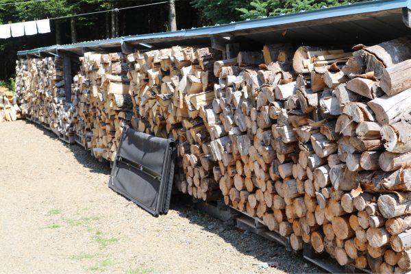 firewood processing, splitting firewood