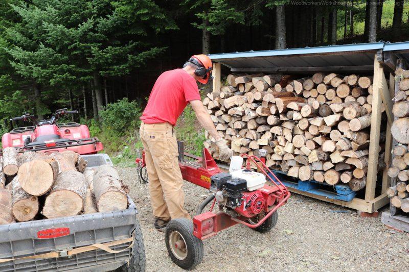 firewood processing, w0od splitting, Antigonish county, Guysborough county
