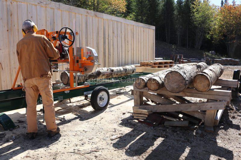 sawmill,logs,lumber