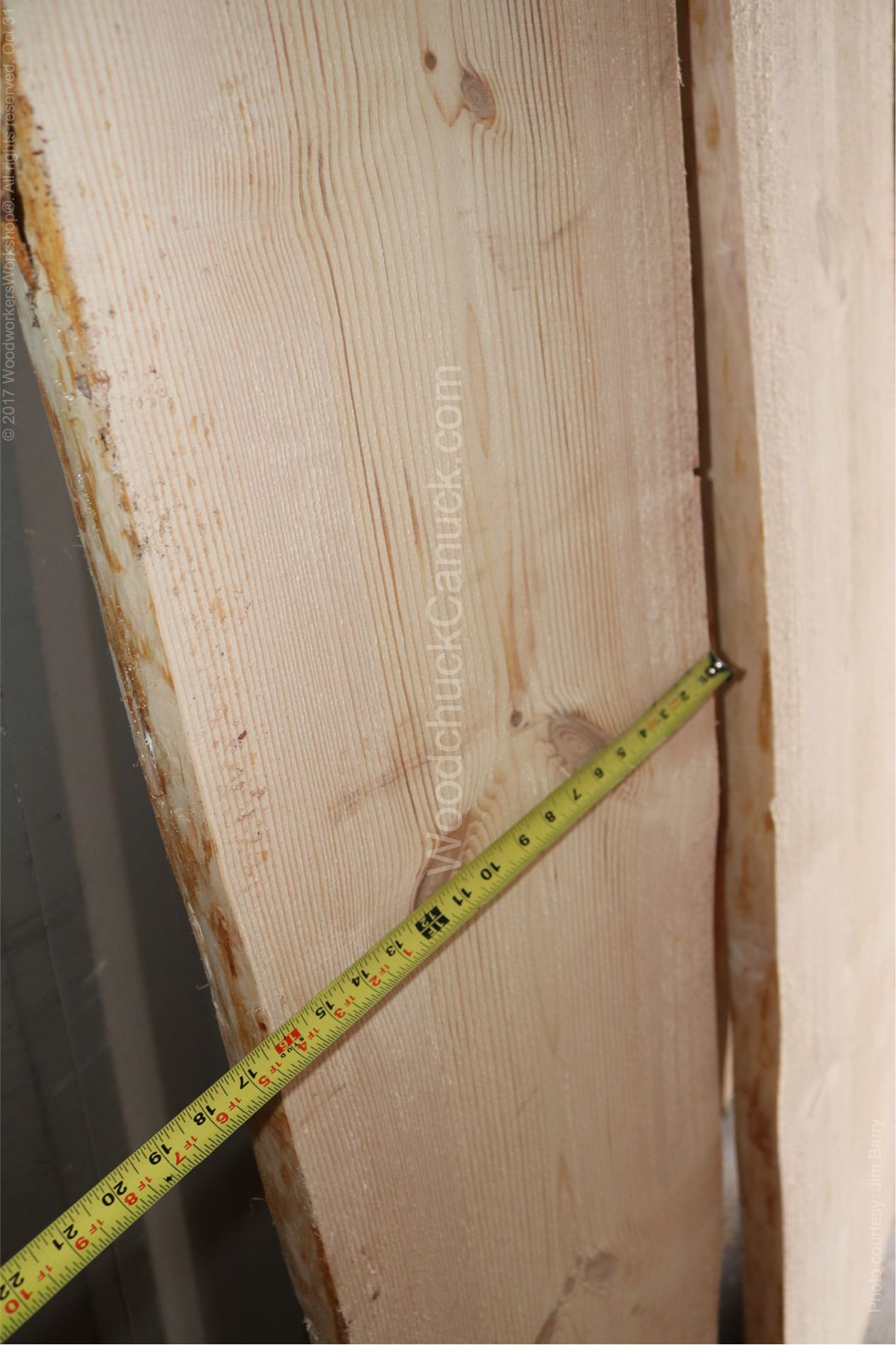 Wide plank live edge pine in our inventory.