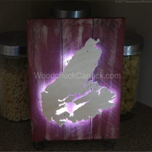 wooden maps, Cape Breton, scrollsaw wood crafts, made in Nova Scotia,Canada
