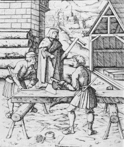 1517, Carpenters engraving