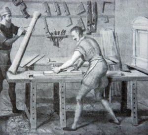 1565 Carpenter workshop