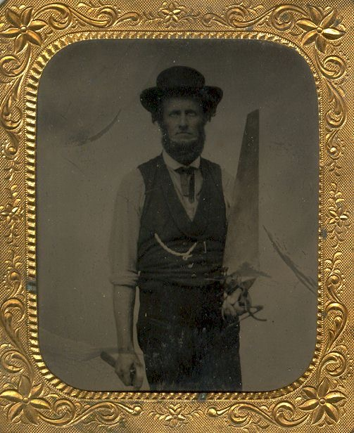 1860 California carpenter