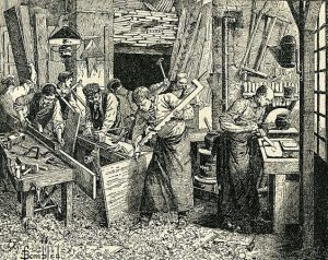Carpenter scene