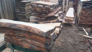 stacks of wood bowl blanks