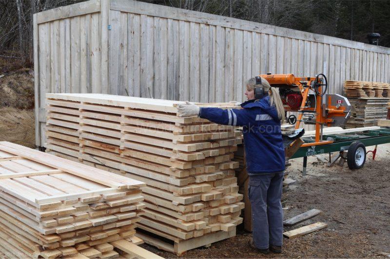 milling lumber,spruce logs,kiln shed