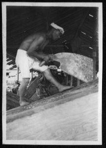 sawing llumber,saw pits,vintage logging photos,old photographs