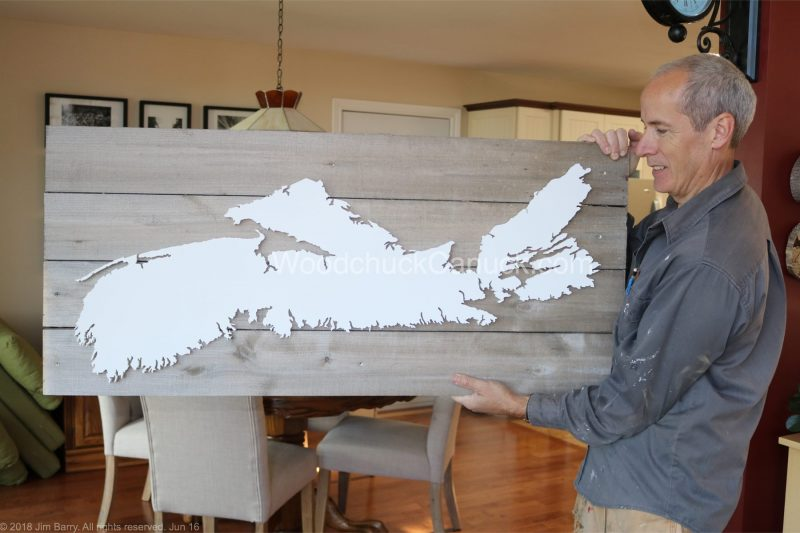 NS map,wood map