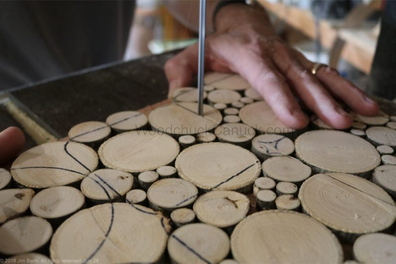 wood slice coasters,crafts,bandsaw
